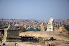 Templo em Hampi, India imagens de stock royalty free