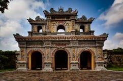 Templo em Hue Ann, Vietname foto de stock royalty free