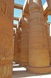Templo em Karnak, Egipto fotografia de stock