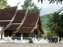 Templo em Luang Prabang, Laos fotografia de stock royalty free
