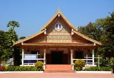 Templo em Phra que música Rak RAK de Sri, Tailândia Foto de Stock Royalty Free
