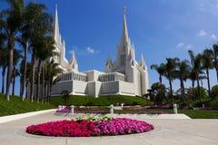 Templo em San Diego Foto de Stock