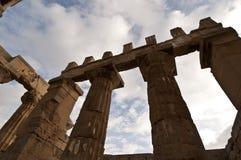 Templo em Selinunte Foto de Stock