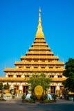 Templo em Tailândia Foto de Stock Royalty Free