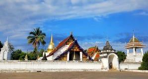 Templo em Tailândia do norte Fotografia de Stock