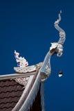 Templo em Tailândia, templo na província do chiangmai Foto de Stock Royalty Free