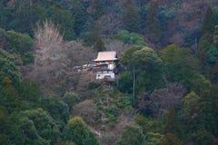 Templo em um monte Imagem de Stock Royalty Free