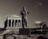 Templo en Agrigento, Sicilia Fotografía de archivo libre de regalías