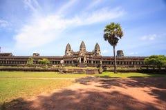 Templo en Angkor Wat Fotografía de archivo