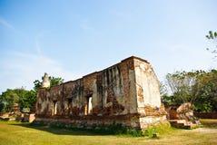 Templo en Ayutthaya Imagen de archivo