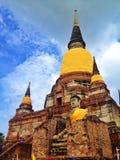 Templo en Ayutthaya Fotos de archivo