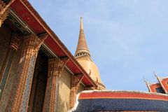 Templo en Bangkok Fotos de archivo libres de regalías