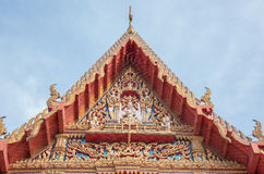 Templo en Bangkok, Tailandia Imagen de archivo libre de regalías
