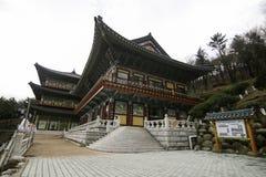 Templo en Busán Corea Fotografía de archivo libre de regalías