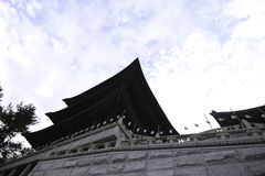 Templo en Busán Corea Imagenes de archivo