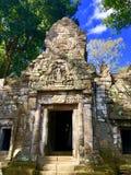 Templo en Camboya imagen de archivo