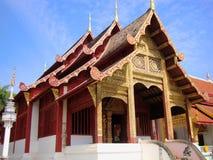 Templo en Chaingmai Imágenes de archivo libres de regalías