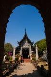 Templo en Chiang Mai Imagen de archivo libre de regalías