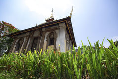 Templo en Chiang Mai, Tailandia fotos de archivo