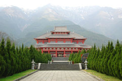Templo en Dali Fotos de archivo libres de regalías