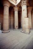 Templo en Egipto Imágenes de archivo libres de regalías