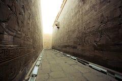 Templo en Egipto Foto de archivo libre de regalías