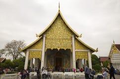 Templo en el €Ž de Chiang Mai Thailandâ Fotografía de archivo libre de regalías