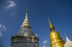 Templo en el €Ž de Chiang Mai Thailandâ Fotos de archivo