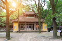 Templo en el estilo arquitectónico tradicional del este, Hai D Fotografía de archivo libre de regalías