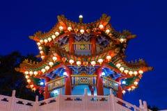 Templo en el festival de mediados de otoño, Kuala Lumpur de Thean Hou Fotografía de archivo libre de regalías