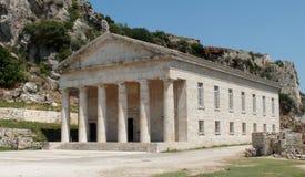 Templo en el fuerte viejo Imágenes de archivo libres de regalías