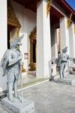 Templo en el Museo Nacional Bangkok Tailandia Foto de archivo