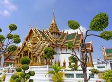 Templo en el palacio magnífico Emerald Buddha (Wat Phra Kaew), Bangkok Fotos de archivo libres de regalías
