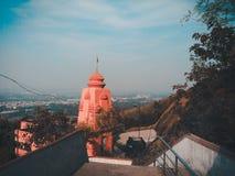 Templo en el top foto de archivo libre de regalías