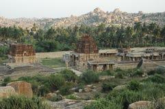Templo en Hampi Karnataka la India Fotografía de archivo
