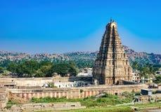 Templo en Hampi, la India de Virupaksha fotos de archivo libres de regalías
