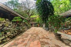 Templo en Hanoi, Vietnam Fotografía de archivo libre de regalías