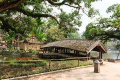 Templo en Hanoi, Vietnam Imagen de archivo