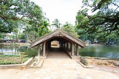 Templo en Hanoi, Vietnam Foto de archivo libre de regalías