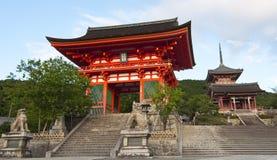 Templo en Japón Foto de archivo