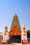 Templo en kanchanaburi Fotografía de archivo libre de regalías