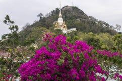 Templo de Khao Takiab Imagenes de archivo