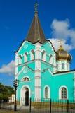 Templo en la ciudad de Anapa. Imagen de archivo libre de regalías