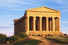 Templo en la colina Imagen de archivo