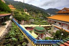 Templo en la cumbre de Penang, Malasia Imágenes de archivo libres de regalías