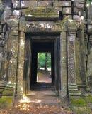 Templo en la entrada de Camboya imagenes de archivo
