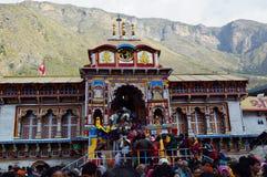 Templo en la estación Uttrakhand de la colina en la India Foto de archivo libre de regalías