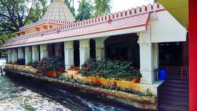 Templo en la India foto de archivo