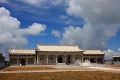 Templo en la plataforma del pico del norte fotografía de archivo libre de regalías
