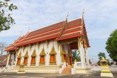Templo en la prohibición del wat Imágenes de archivo libres de regalías